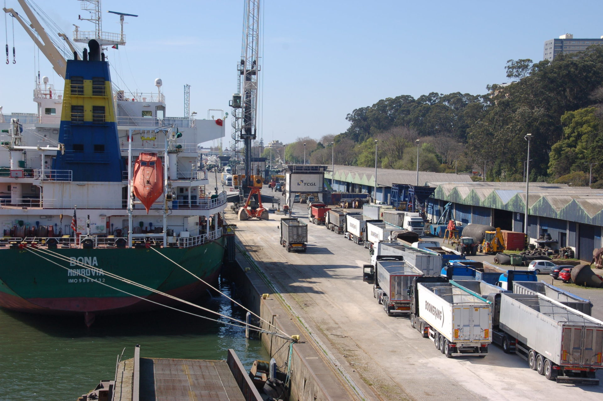 carga portugal