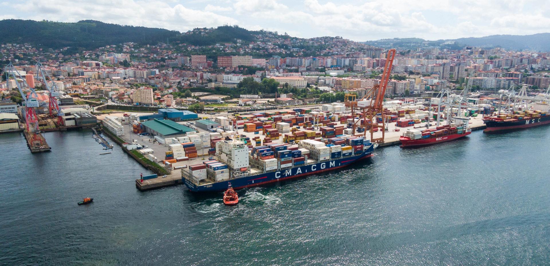 Carga y descarga Puerto Vigo